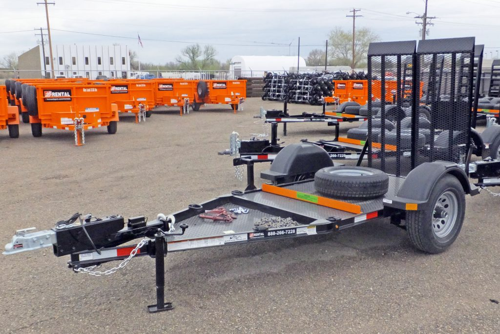 Flatbed Rental Trailers